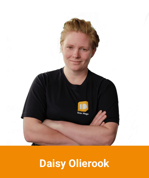 Daisy Olierook - Instructeur bij Krav Maga school Inside Defence