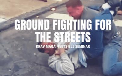 4 mei Krav Maga meets BJJ seminar