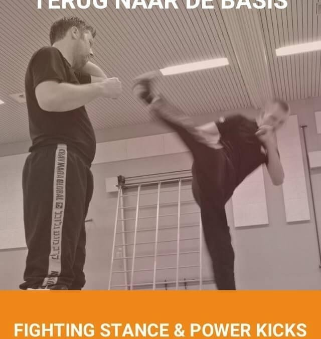 10 maart 2019 fighting stance & power kicks