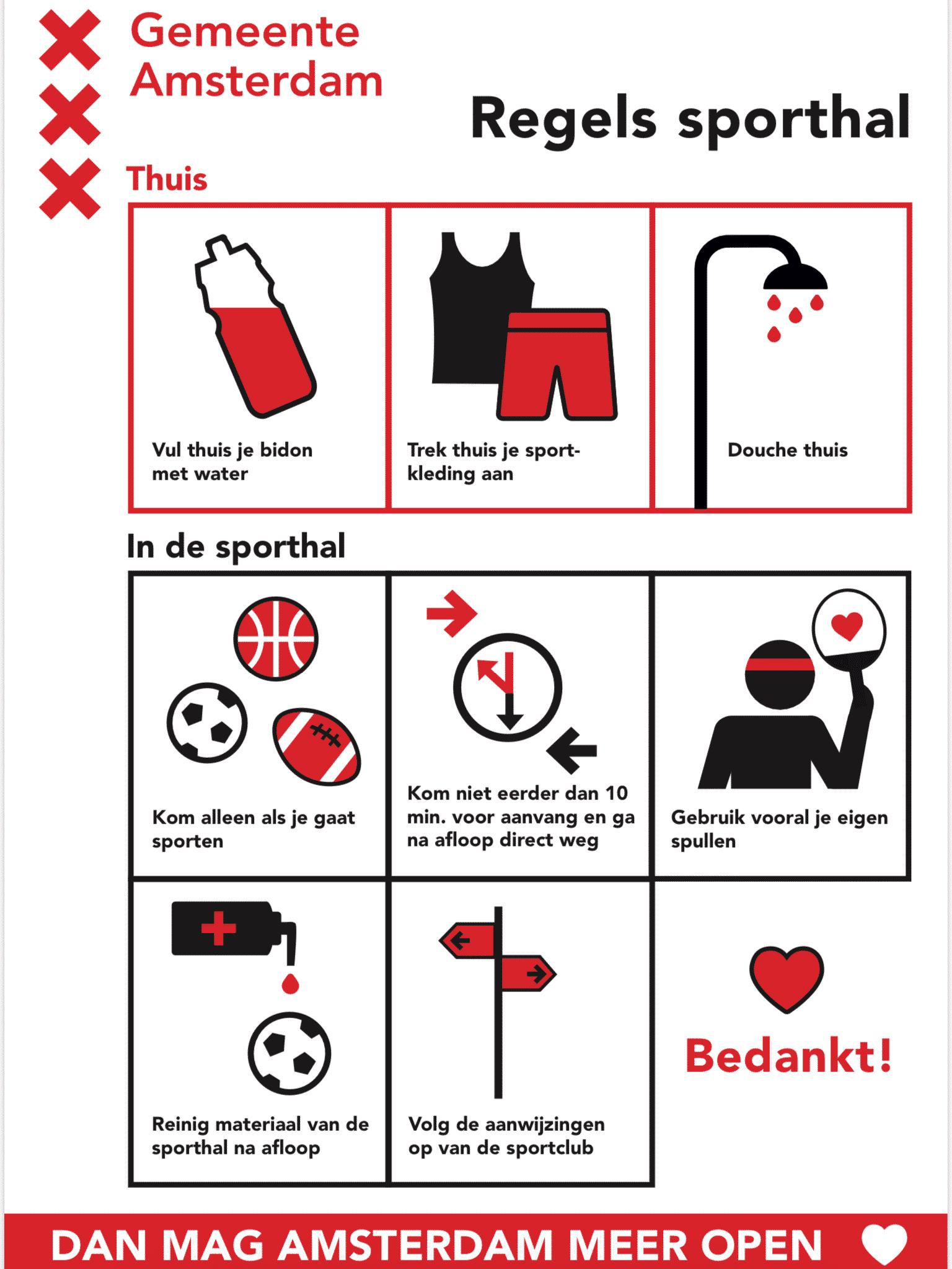 Protocol verantwoord binnen sporten