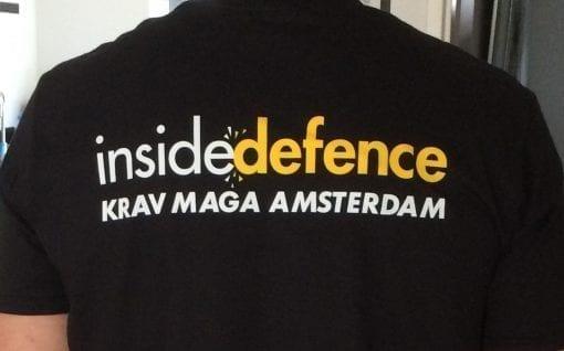 Design Krav Maga shirt achterkant